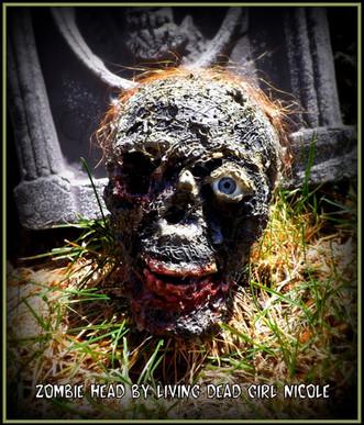 Mini Zombie Head