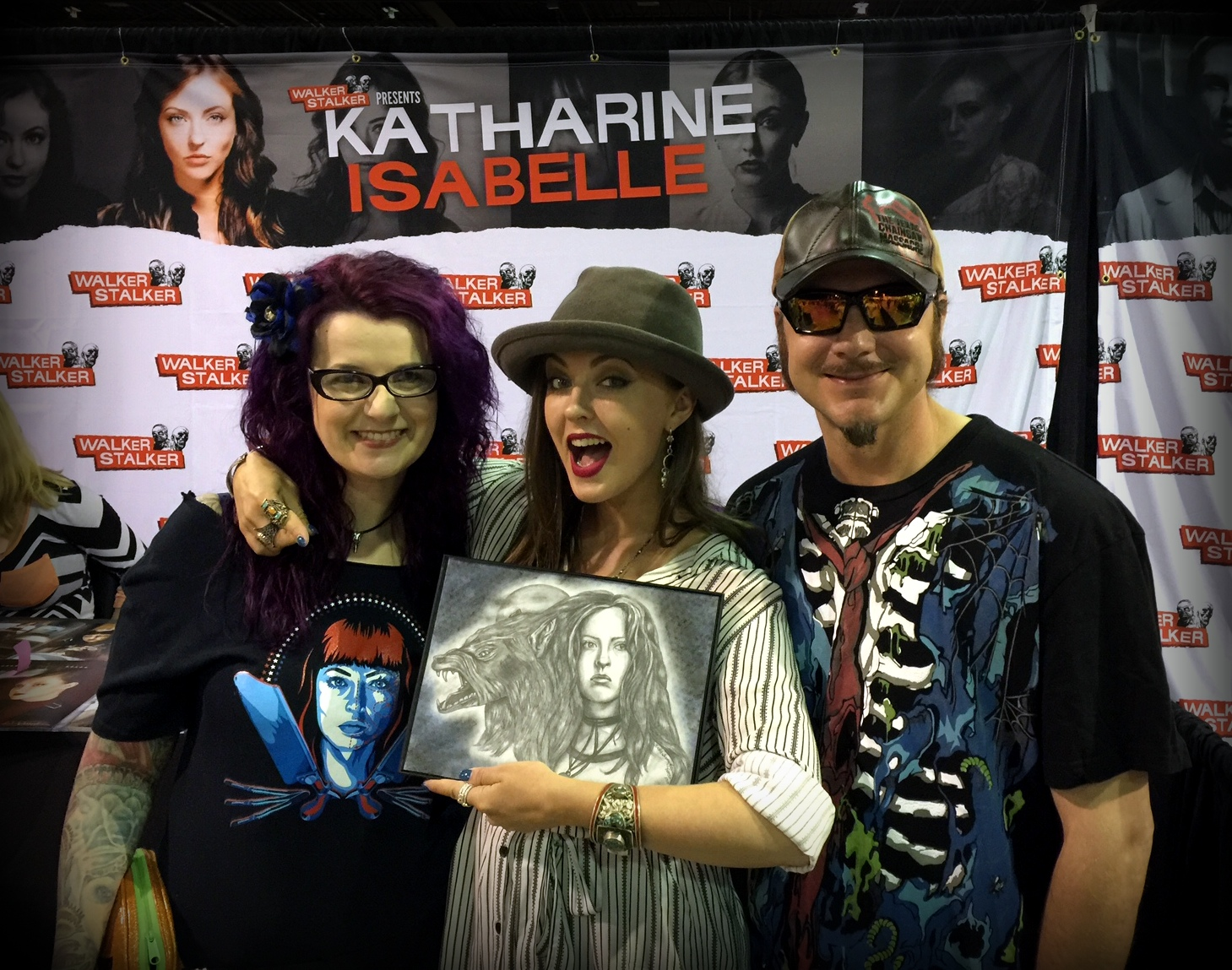 Gifting to Katharine Isabelle
