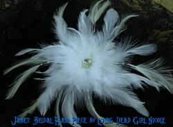 Custom Bridal Hair Barrette