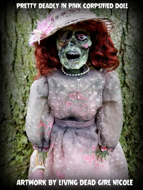 Pretty Deadly In Pink Corpse Doll