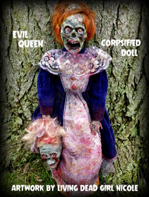 Evil Corpsifed Queen Doll