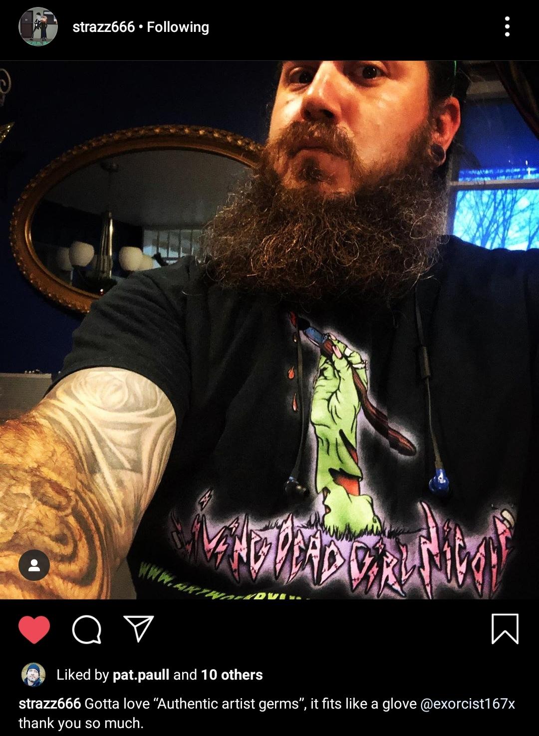 Strazz Living Dead Girl Nicole Shirt