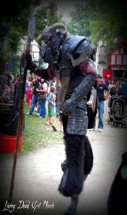 Beast at Ren Faire