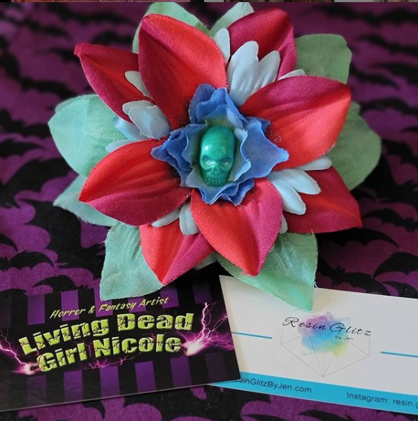Luau Barrette by Living Dead Girl Nicole