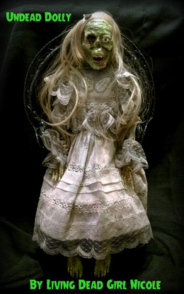 Undead Dolly With Chair