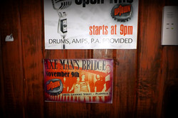 AMB Show Flier on display at venue