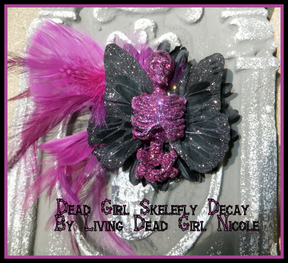 Skelefly Barrette
