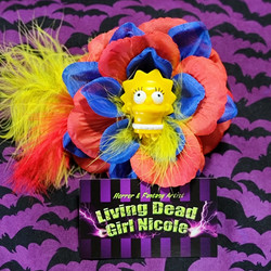 LIsa Simpson Barrette By Living Dead Gir