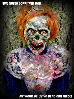 Evil Corpsified Queen Doll