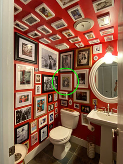 Nikki's Femme Bathroom With Naturally Born Bad Art