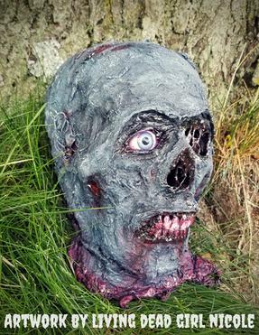 CC Zombie Halloween Prop Horror Decor by
