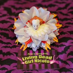 Pennywise Barrette By Living Dead Girl Nicole