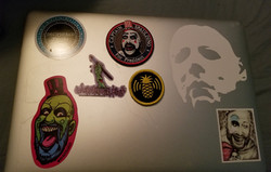 Living Dead Girl Nicole Stickers