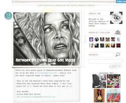 Sheri Moon Zombie's Website