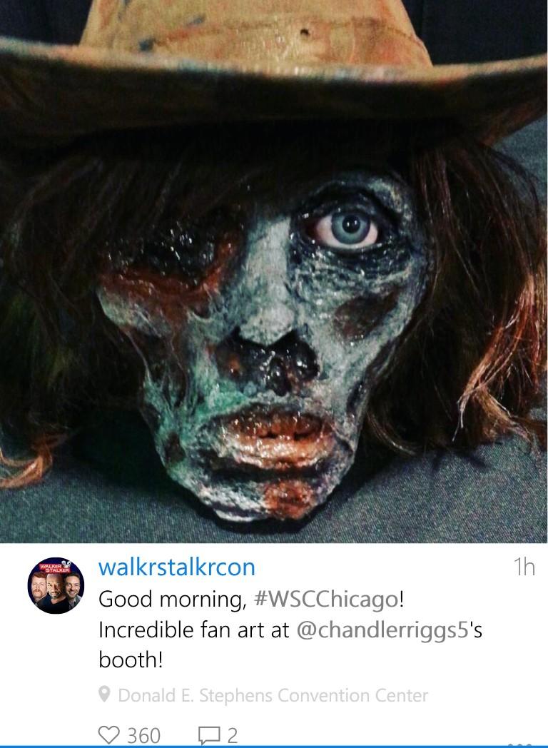 Walker Stalker Con/Chandler Riggs