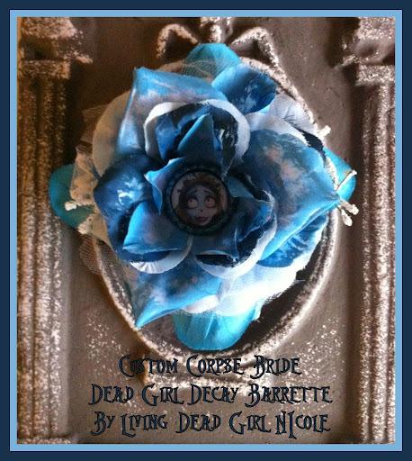 Corpse Bride Barrette