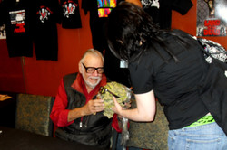 Me and George Romero