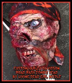 Harley Biker Zombie