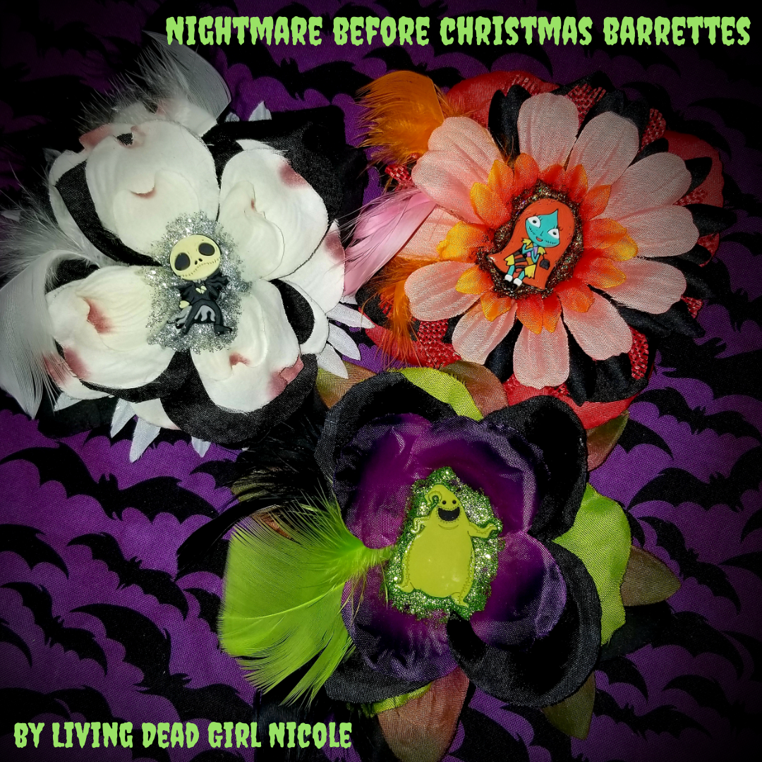 NightmareBeforeChristmasBarrettes