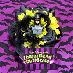 Batman Barrette By Living Dead Girl Nico
