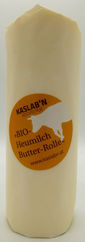 Bio-Heumilch-Butter-Rolle