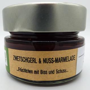 Zwetschgerl & Nuss-Marmelade