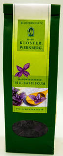 Handverlesener Bio-Basilikum-Gewürzkräuter