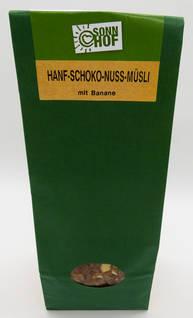 Hanf-Schoko-Nuss-Müsli