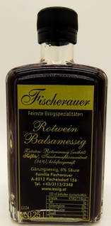 Rotwein Balsamicoessig