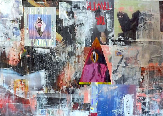 feminist artwork, first kiss, sexuality, abstract, painting
