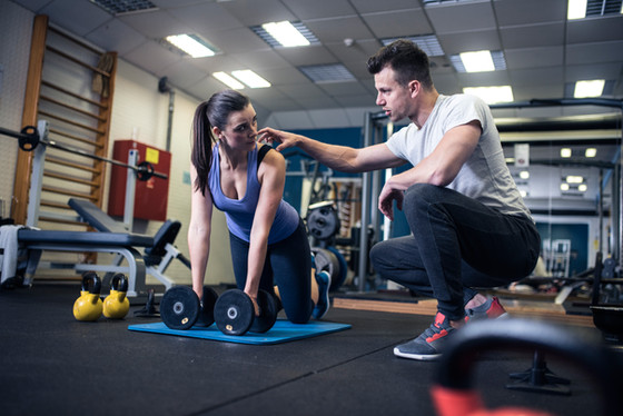 Why you should train with a personal trainer.