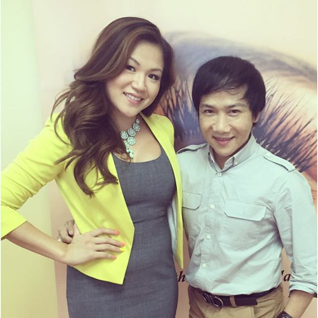 ChauBella with Lash Guru Daniel Phu