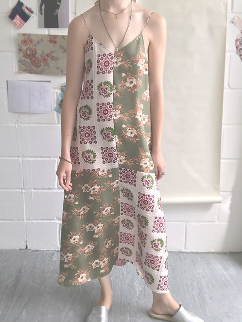 Mabel Long Slip Dress / Size 12-14