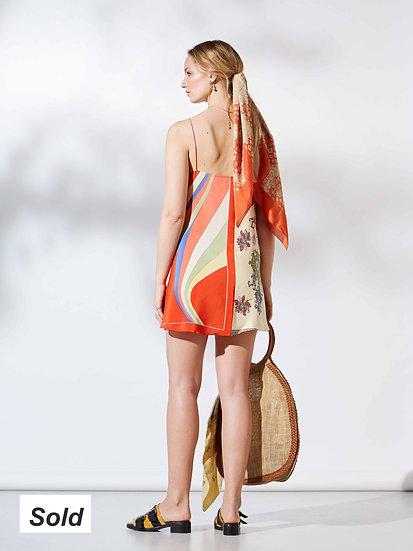 Lou Mini Slip Dress / size 12-14