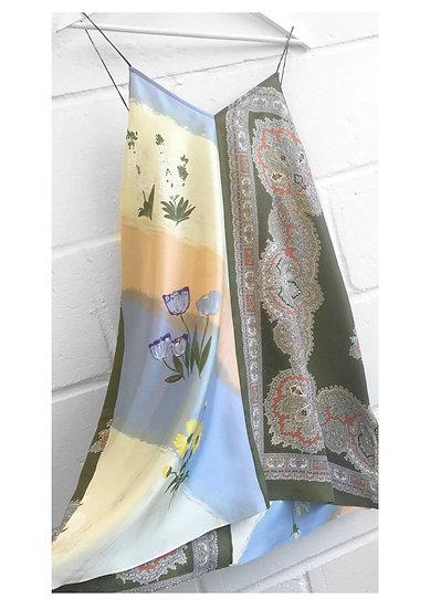 Jeanet Mini Slip Dress / size 10 -12