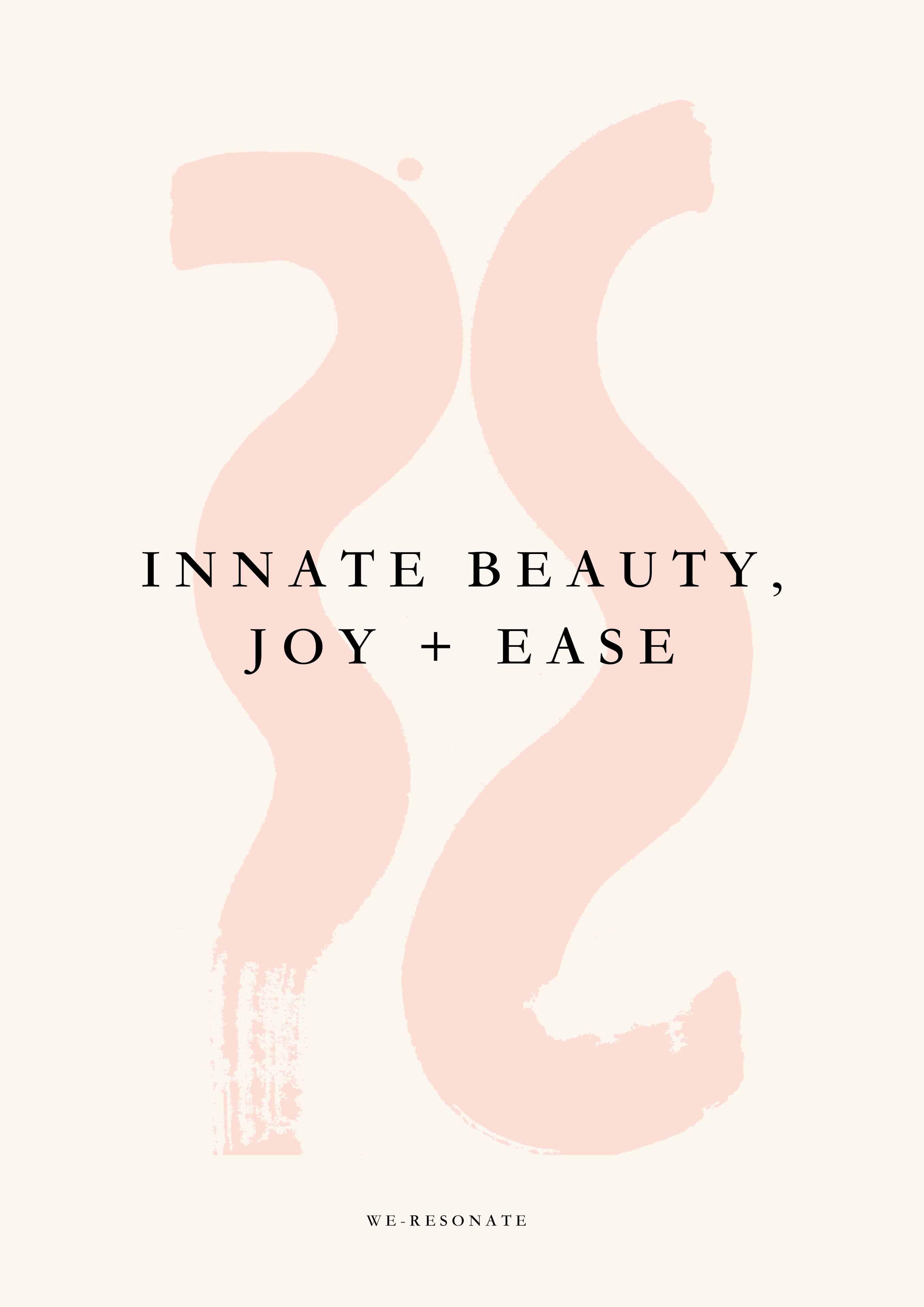 Innate beauty, joy and Ease ebook