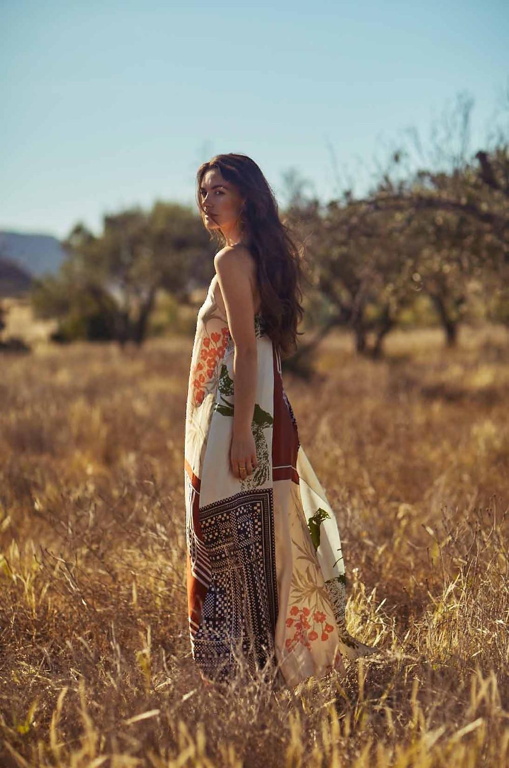 Anna in #15 Slip Dress
