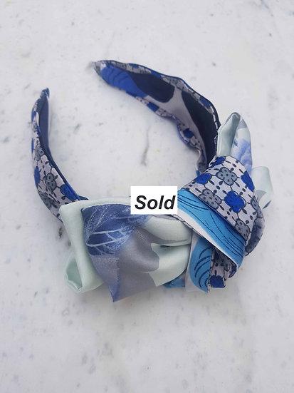 Blue hues Headband