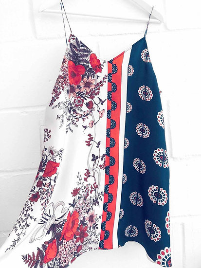 Karianne Mini Slip Dress / Size 12 - 14