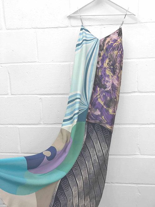 Jayna Long Slip Dress / size 6-8