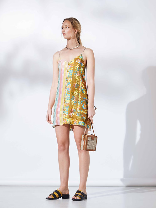 Leigh Mini Slip Dress / size 10 -12