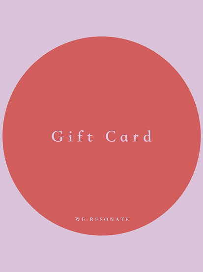 MADE FOR YOU Gift Card (personalised) £330