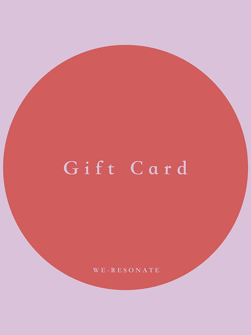 Gift Card (personalised) £20