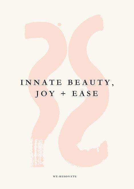 Ebook ~ Intro to Workshop ~ Innate Beauty, Joy + Ease