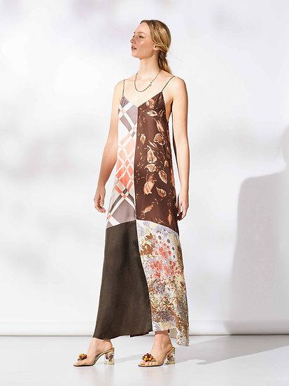 Franzi Long Slip Dress / size 6-8