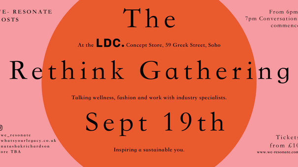 The Rethink Gathering - PART 1 - The power of conversation.