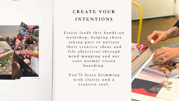 Workshops ~ Create Your Intentions ~ Mindmapping + Vision Boards with We-Resonate