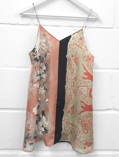 Karen Mini Slip Dress / size 8