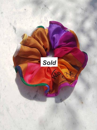 Colour Wave Scrunchie