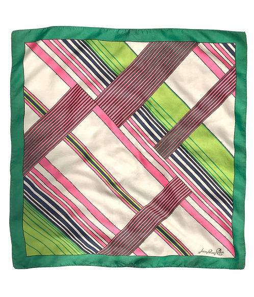 Striped Jean Pierre Robin Scarf